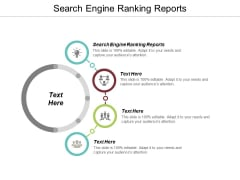Search Engine Ranking Reports Ppt PowerPoint Presentation Summary Styles Cpb