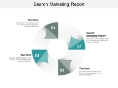 Search Marketing Report Ppt PowerPoint Presentation Styles Maker Cpb