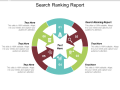 Search Ranking Report Ppt PowerPoint Presentation Gallery Aids Cpb