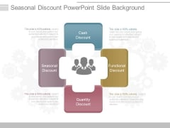 Seasonal Discount Powerpoint Slide Background