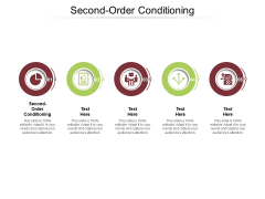 Second Order Conditioning Ppt PowerPoint Presentation Icon Background Image Cpb Pdf