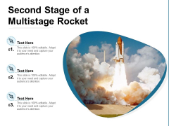 Second Stage Of A Multistage Rocket Ppt PowerPoint Presentation Icon Pictures PDF