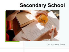 Secondary School Brainstorming Project Ppt PowerPoint Presentation Complete Deck
