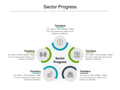Sector Progress Ppt PowerPoint Presentation File Professional Cpb