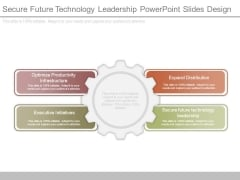 Secure Future Technology Leadership Powerpoint Slides Design