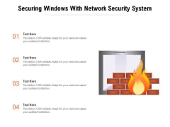 Securing Windows With Network Security System Ppt PowerPoint Presentation File Slides PDF