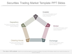 Securities Trading Market Template Ppt Slides
