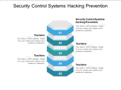 Security Control Systems Hacking Prevention Ppt PowerPoint Presentation Slides Design Inspiration Cpb