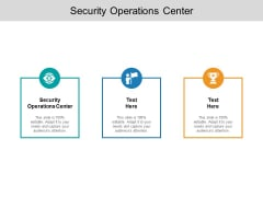 Security Operations Center Ppt PowerPoint Presentation Gallery Template