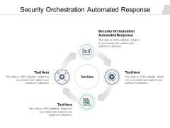 Security Orchestration Automated Response Ppt PowerPoint Presentation Show Examples Cpb