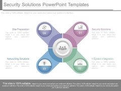 Security Solutions Powerpoint Templates