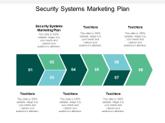 Security Systems Marketing Plan Ppt PowerPoint Presentation Designs Cpb