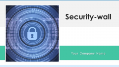 Security Wall Virtual Ppt PowerPoint Presentation Complete Deck With Slides