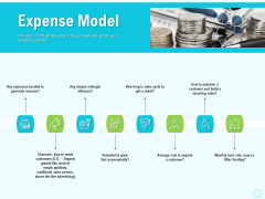 Seed Capital Expense Model Ppt PowerPoint Presentation Summary Icon PDF