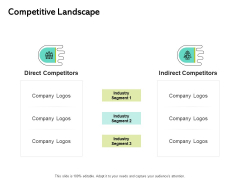 Seed Funding Pitch Deck Competitive Landscape Ppt Layouts Example PDF