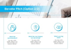 Seed Growth Investing Elevator Pitch Ppt PowerPoint Presentation Slides Background Image