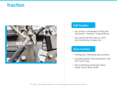 Seed Growth Investing Traction Ppt PowerPoint Presentation Slides Graphics