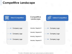 Seed Investment Competitive Landscape Ppt File Inspiration PDF