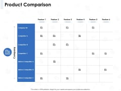 Seed Investment Product Comparison Ppt Icon Layout PDF