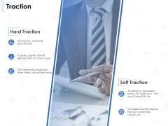 Seed Investment Traction Ppt Outline Backgrounds PDF