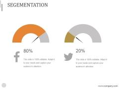 Segementation Ppt PowerPoint Presentation Images