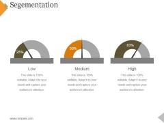 Segementation Ppt PowerPoint Presentation Infographic Template Smartart