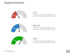 Segementation Ppt PowerPoint Presentation Summary