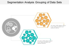 Segmentation Analysis Grouping Of Data Sets Ppt PowerPoint Presentation Ideas Backgrounds
