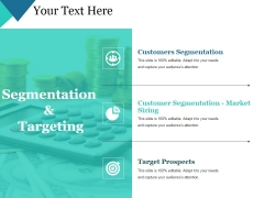 Segmentation And Targeting Ppt PowerPoint Presentation Model Guidelines