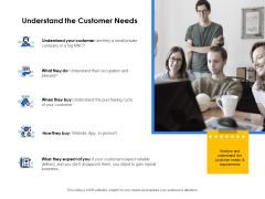 Segmentation Of B2B Markets Understand The Customer Needs Ppt PowerPoint Presentation Styles Graphics PDF