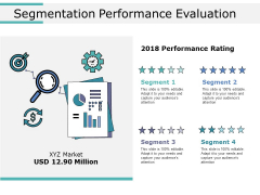 Segmentation Performance Evaluation Ppt PowerPoint Presentation Show Brochure