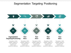 Segmentation Targeting Positioning Ppt PowerPoint Presentation Icon Background Image Cpb