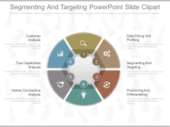 Segmenting And Targeting Powerpoint Slide Clipart