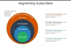 Segmenting Subscribers Ppt PowerPoint Presentation Styles Themes