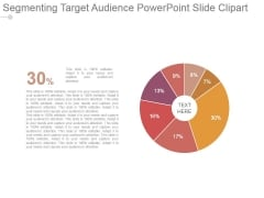 Segmenting Target Audience Powerpoint Slide Clipart
