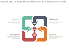 Segmenting The Target Market Powerpoint Slide Presentation Sample