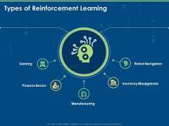 Segments Of Reinforcement Learning Types Of Reinforcement Learning Ppt Gallery Outfit PDF