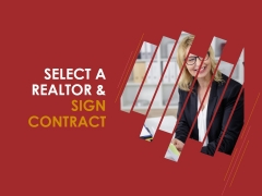 Select A Realtor And Sign Contract Template 1 Ppt PowerPoint Presentation Picture