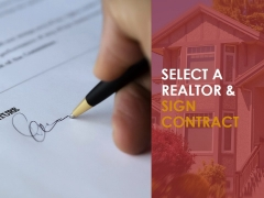 Select A Realtor And Sign Contract Template 2 Ppt PowerPoint Presentation Guide