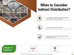 Selecting Appropriate Distribution Channel New Product When To Consider Indirect Distribution Mockup PDF