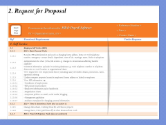 Selecting The Right Channel Strategy 2 Request For Proposal Ppt PowerPoint Presentation Summary Slideshow PDF
