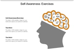 Self Awareness Exercises Ppt PowerPoint Presentation Inspiration Templates Cpb