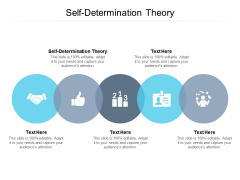 Self Determination Theory Ppt PowerPoint Presentation Infographics Files Cpb Pdf