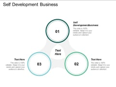 Self Development Business Ppt PowerPoint Presentation Slides Infographic Template Cpb