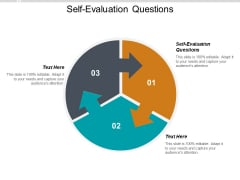 Self Evaluation Questions Ppt PowerPoint Presentation Slides Tips Cpb
