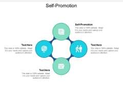 Self Promotion Ppt Powerpoint Presentation Portfolio Graphics Pictures Cpb