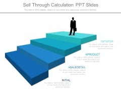 Sell Through Calculation Ppt Slides