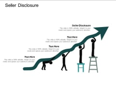 Seller Disclosure Ppt PowerPoint Presentation Inspiration Visuals Cpb