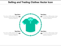 Selling And Trading Clothes Vector Icon Ppt PowerPoint Presentation Icon Model PDF