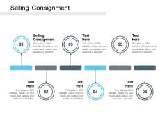 Selling Consignment Ppt PowerPoint Presentation File Topics Cpb